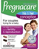 Pregnacare Vitabiotics His and Her Conception - 60 Tablets