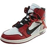 quality design 16182 ff2f4 Amazon.com | Air Jordan 1 x Off-White Retro High OG | Basketball