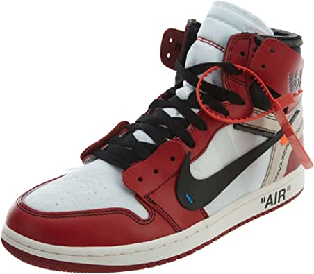 favorito título el centro comercial  Amazon.com | The 10: Air Jordan 1 - AA3834 101 | Basketball