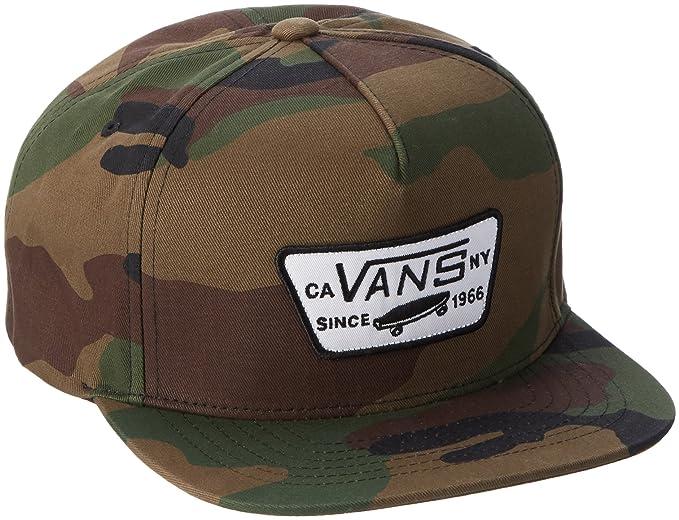 765eaff3559 Vans Men s M Full Patch Baseball Cap