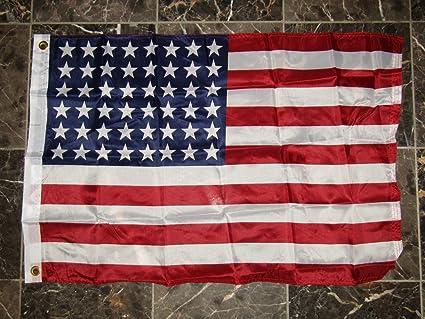 016e8d07a0e6 2X3 Historical 48 Star USA American Super Polyester Nylon Flag 2X3 ft (60 X  90
