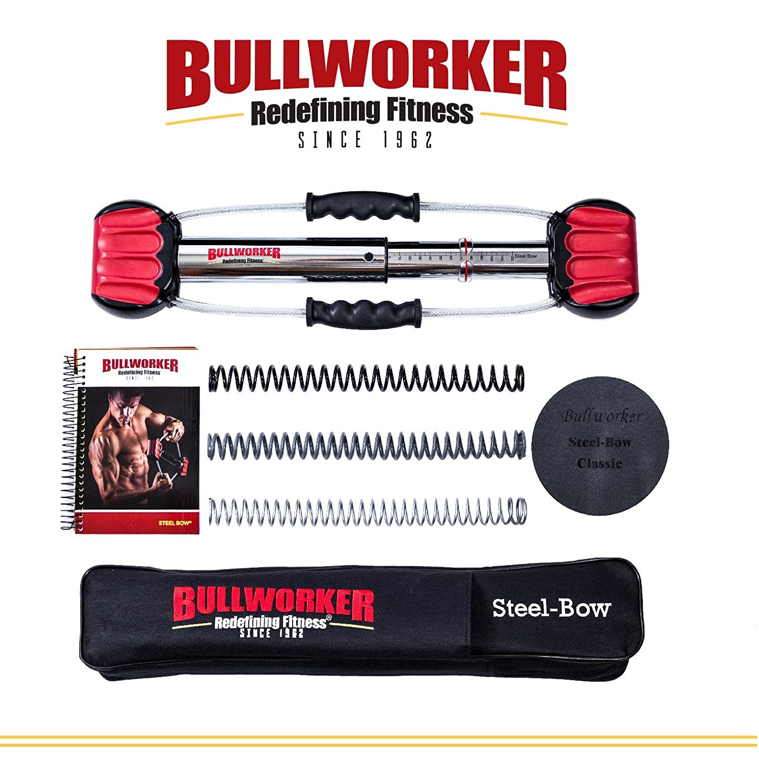 Bullworker 50cm Steel Bow - Full Body Workout - Isometric