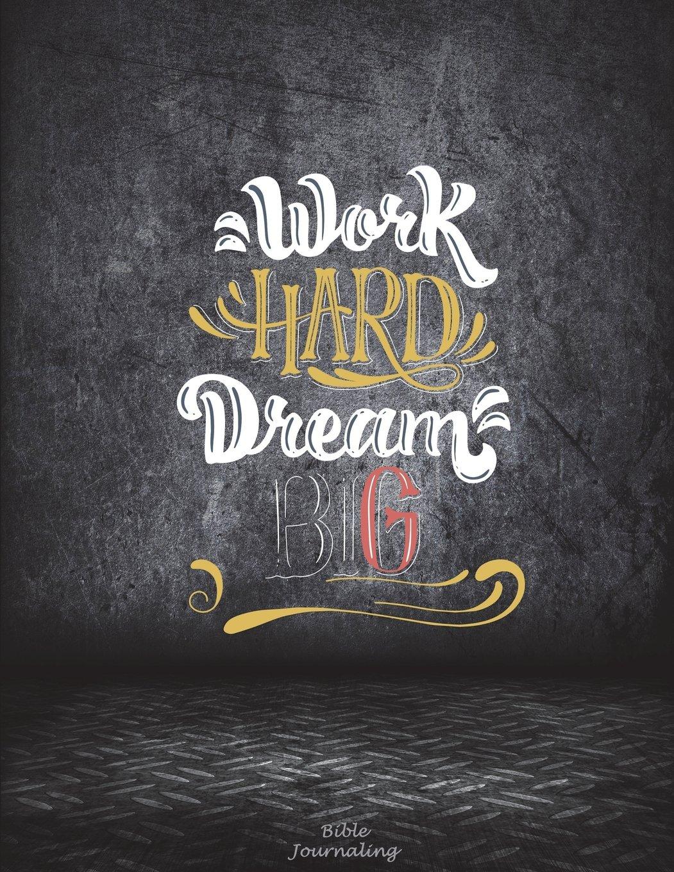buy work hard dream big bible journaling motivational quotes