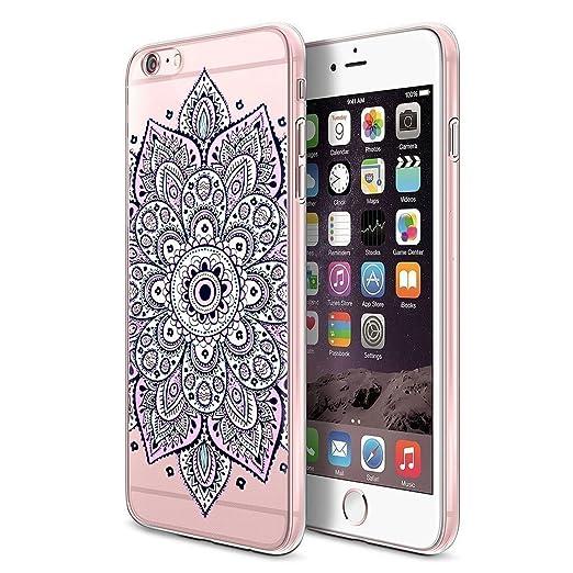24 opinioni per Custodia iPhone 6 6s , ivencase Cover iPhone 6 / 6s Silicone Trasparente TPU