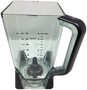 Ninja 72oz Ultra XL Pitcher (Old Style Model) for BL660 BL663 BL663CO BL665Q BL740 BL770 BL771 BL772 BL780 BL780CO Professional Mega Kitchen System Blender