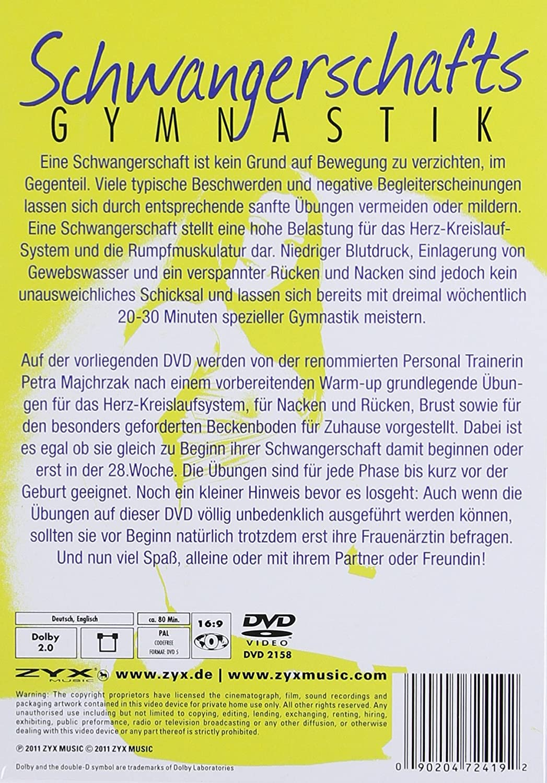 Schwangerschaftsgymnastik das 9 monate fitness programm amazon de special interest dvd blu ray