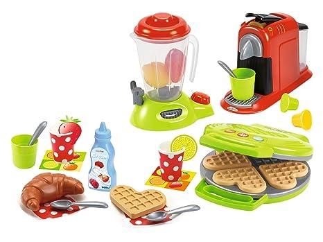 Set de pequeños electrodomésticos de juguete 100% Chef (Ecoiffier 2624)