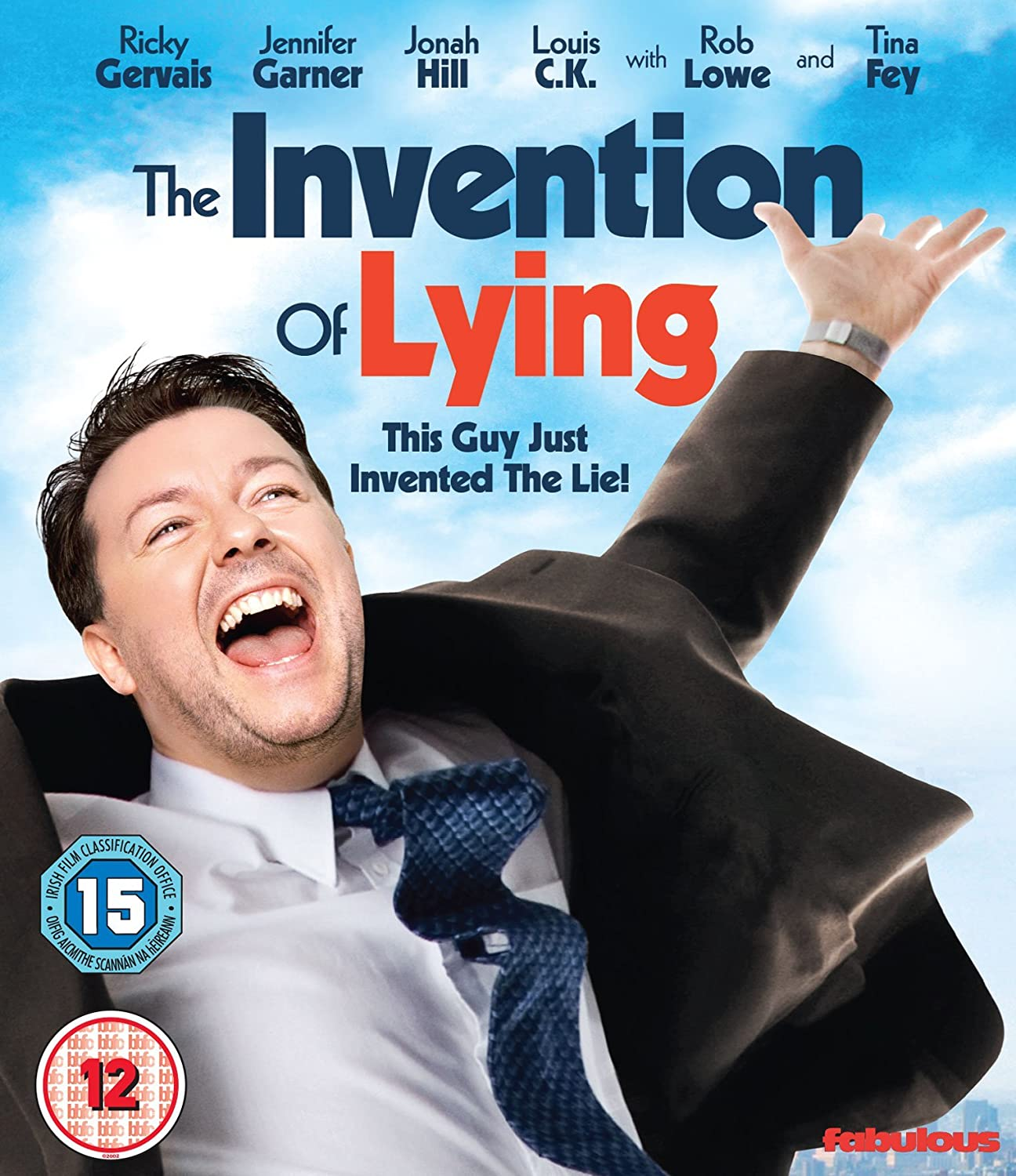 The Invention of Lying [Blu-ray]: Amazon.co.uk: Ricky Gervais, Jennifer  Garner, Jonah Hill, Louis C.K, Rob Lowe, Ricky Gervais, Matthew Robinson,  Ricky Gervais, Jennifer Garner: DVD & Blu-ray