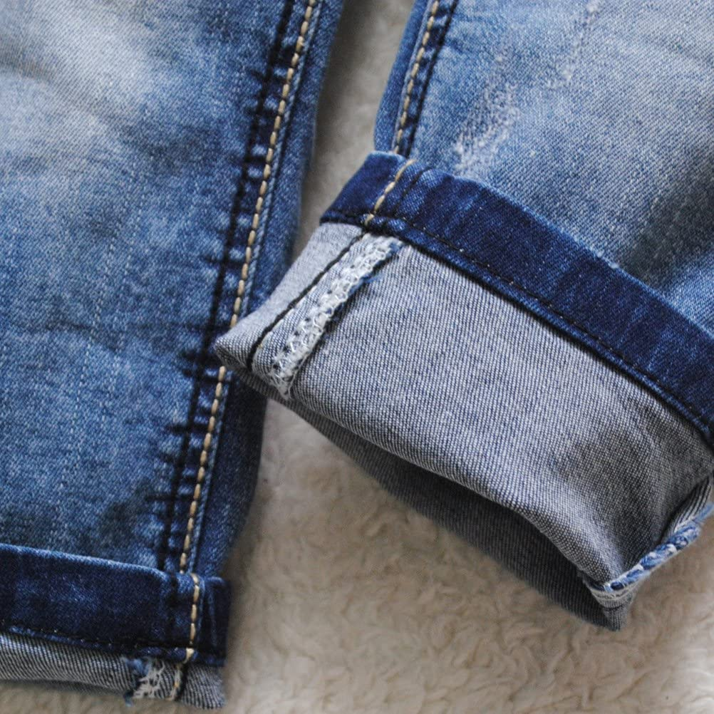 3940 Baby Jeans Kids Boys Trousers Casual Pants Blue Soft Denim Girl