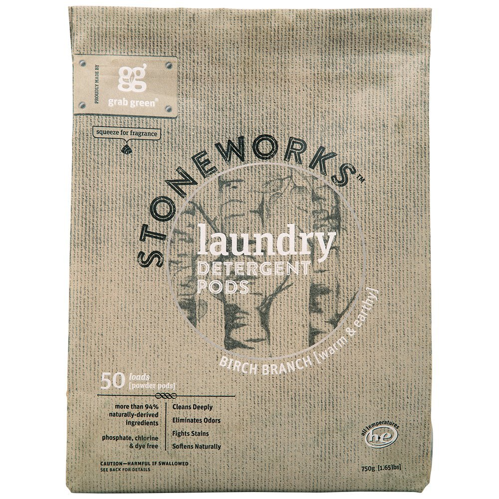 Grab Green Stoneworks Natural Laundry Detergent Powder