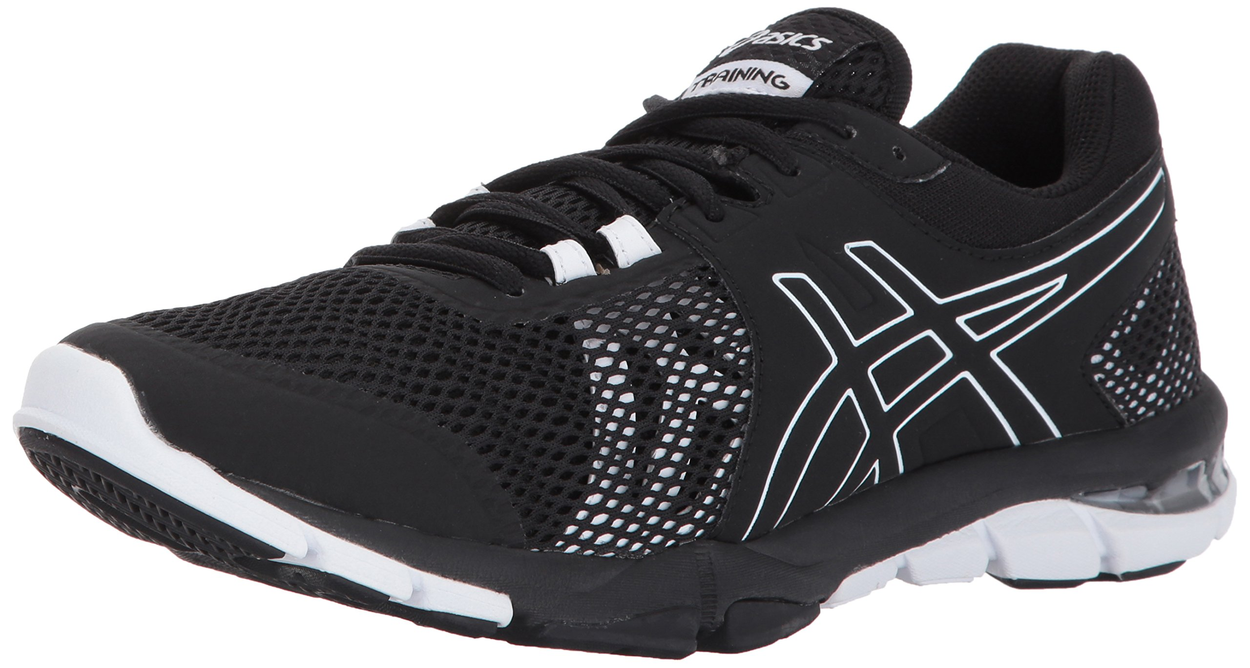 ASICS Women's Gel-Craze TR 4 Cross Trainer, Black/Black/White, 6.5 Medium US