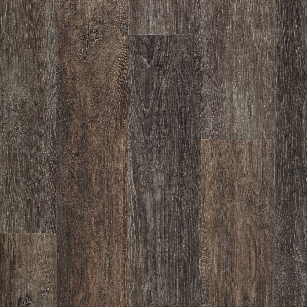 Mannington Hardware ALP630 Adura Glue Down Distinctive Collection Luxury Iron Hill Vinyl Plank Flooring, Smoked Ash by Mannington (Image #1)