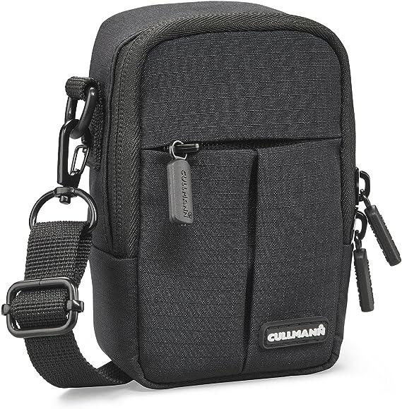 Cullmann Malaga Kompakt 400 Kameratasche Für Kompaktkamera 7 X 12 X 5 Cm Schwarz