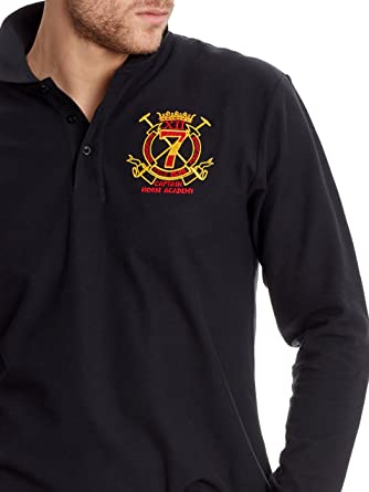 POLO CLUB Polo Manga Larga Regular Escudo España Negro 3XL: Amazon.es: Ropa y accesorios