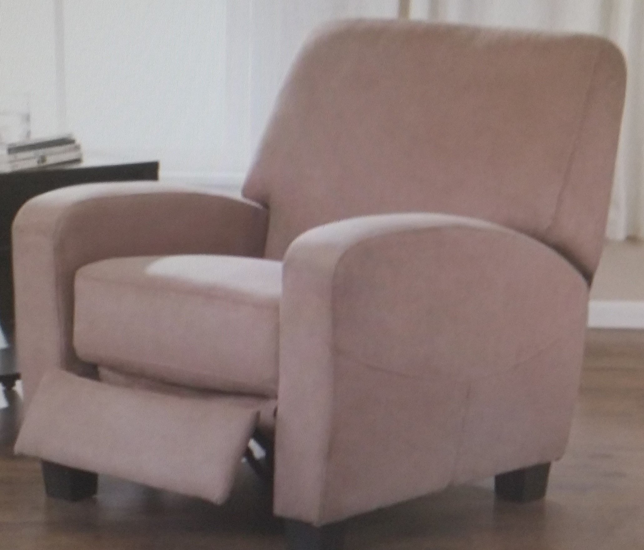 Mainstays Home Theater Recliner, Multiple Colors (Pink)
