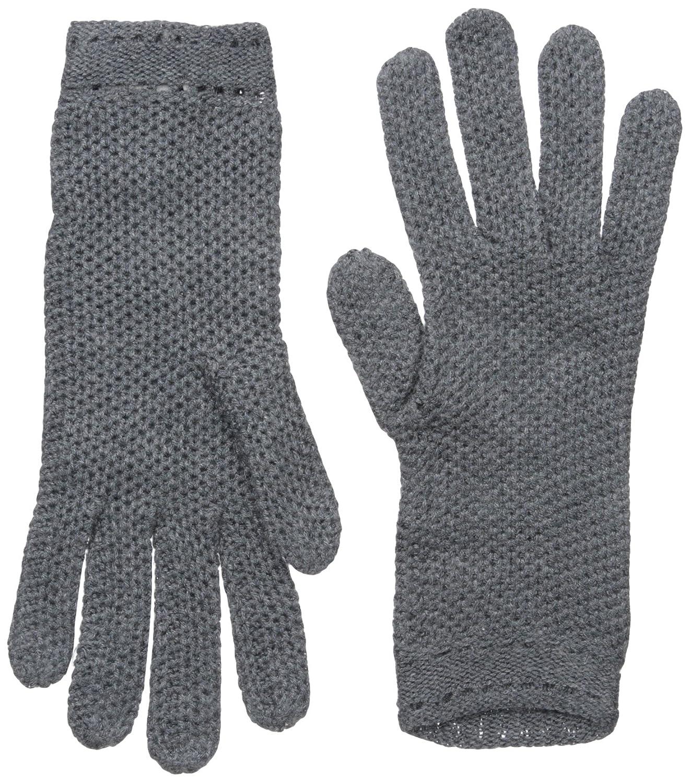 BADGLEY MISCHKA Women's Honeycomb Knit Glove Camel One Size GLK-4675- BMI