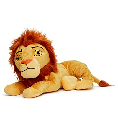 Posh Paws 37287 Disney's The Lion King Simba Soft Toy in Gift Box-25cm, Brown/Black/White: Toys & Games