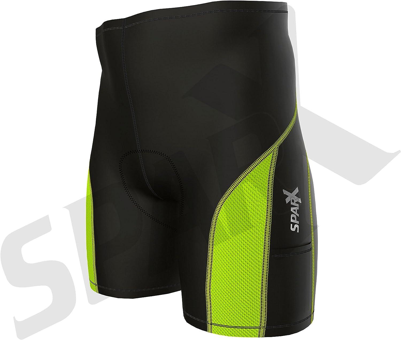 Sparx Elite Men Triathlon Short Tri Shorts Cycling Bike Swim Run Shorts