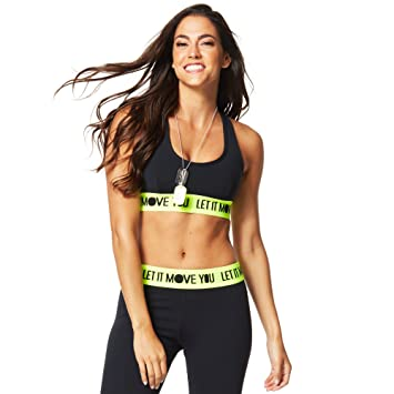Zumba Fitness® Let It Move You Scoop - Ropa Interior Deportiva para Mujer, Color