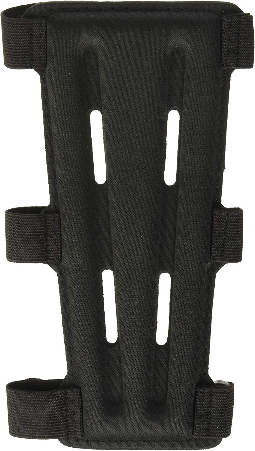 """SAS 8"""" Armguard Archery Bow Range with 3-Strap Buckles (Black) : Sports & Outdoors"""