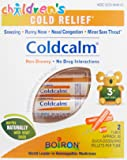 Boiron Children's Coldcalm (2 Pack). Children's Cold Relief Pellets for Sneezing, Runny Nose, Nasal Congestion and Minor Sore Throat. Non-drowsy Cold Medicine, Natural Active Ingredients