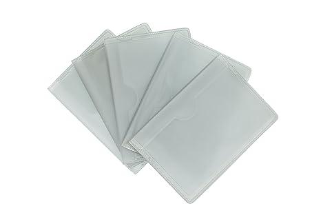 Paquete de 5 - Repuesto de Encartes Plásticos para Fundas de Tarjetas de Crédito 5013 Retrato