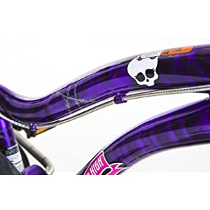 Monster High Dynacraft Girls BMX Street/Dirt Bike
