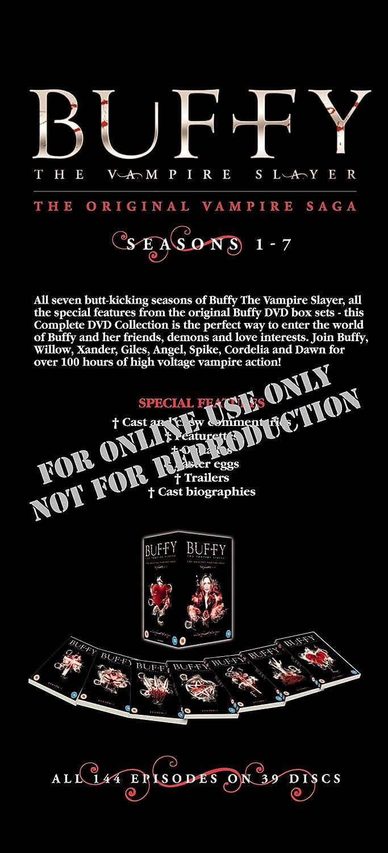 Buffy the Vampire Slayer Complete Seasons 1-7 [DVD] [Import]