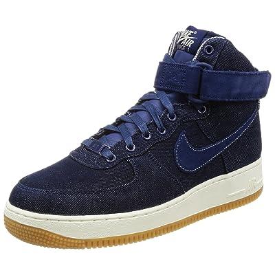 Nike Air Force 1 Hi SE Binary Blue/Muslin-Sail (Womens) (8.5 B(M) US) | Fashion Sneakers