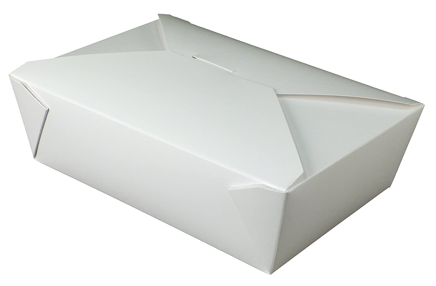 Fold-Pak Bio-Pak 05BPWHITEM Paper Carry-Out/to-Go Container, 8-1/2