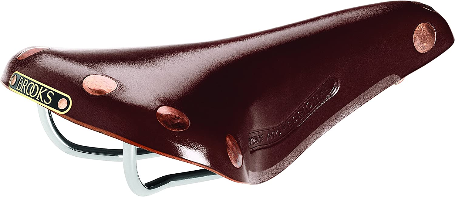 Black Copper//Rails Brooks England B211A17202 B17 Special Bicycle Saddle