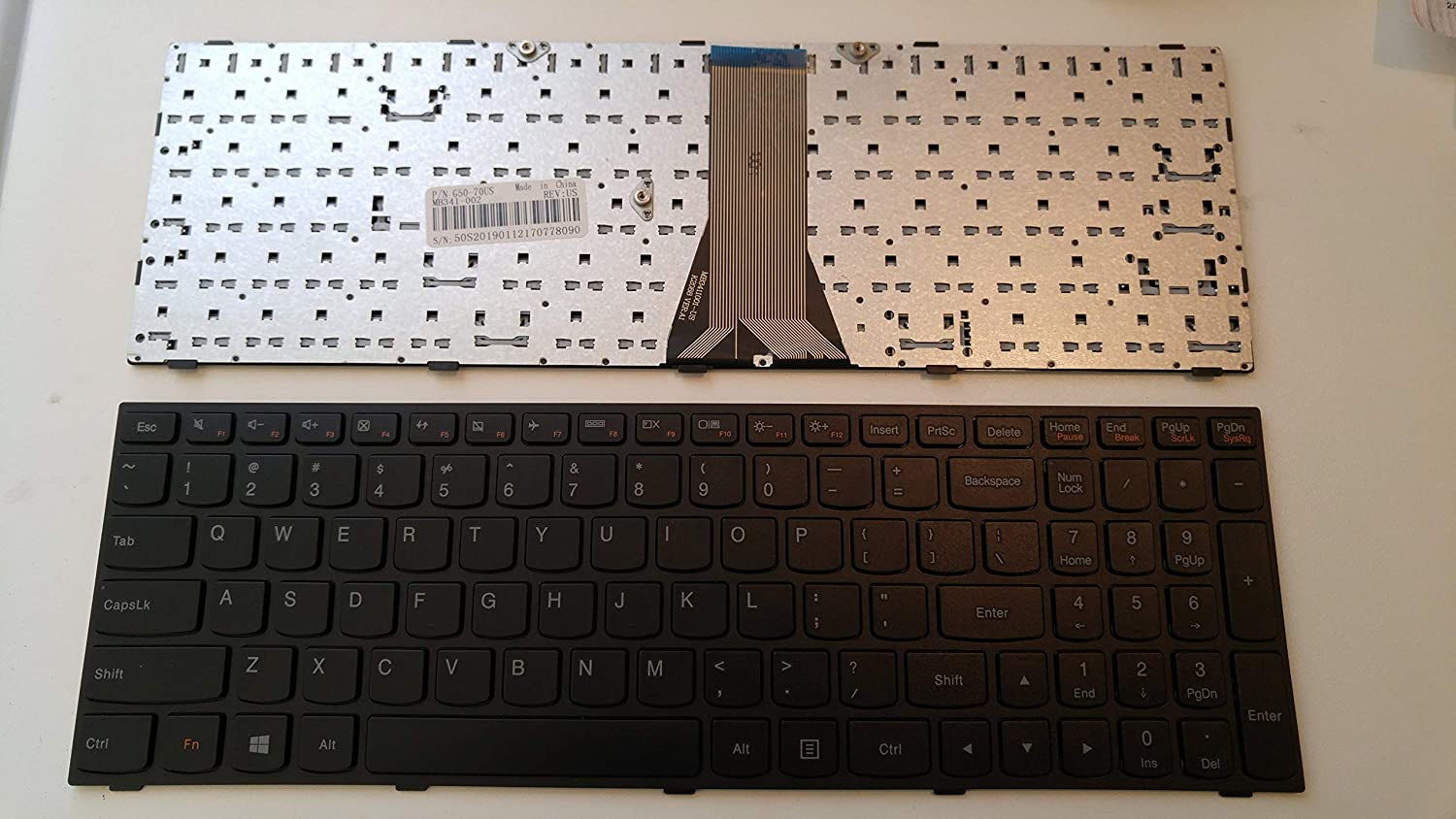 Laptop Keyboard Replacement Fit for Lenovo G50-30 G50-45 G50-70 G50-80