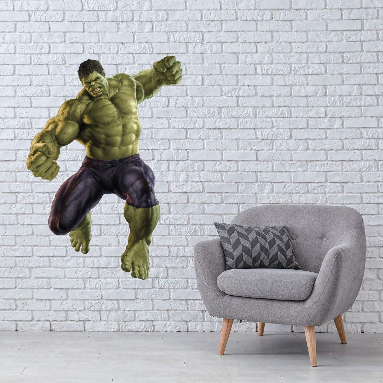 Hulk Wall Sticker Superhero Decal Home Interior Design Dorm Decor Murals Kids Room Decor Waterproof Stickers 5hlz