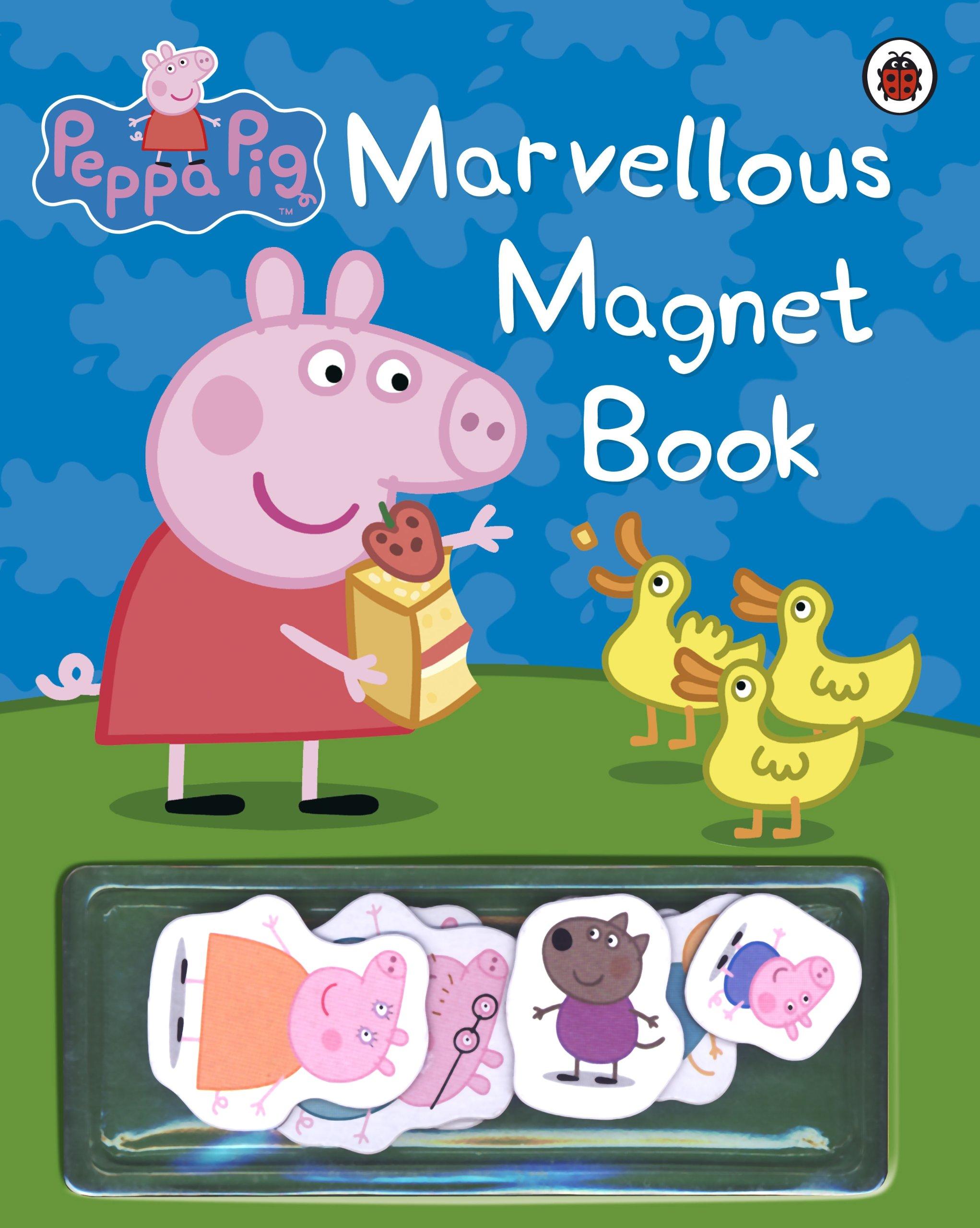 Peppa Pig Marvellous Magnet Book Ladybird 9781409301769 Amazon Books