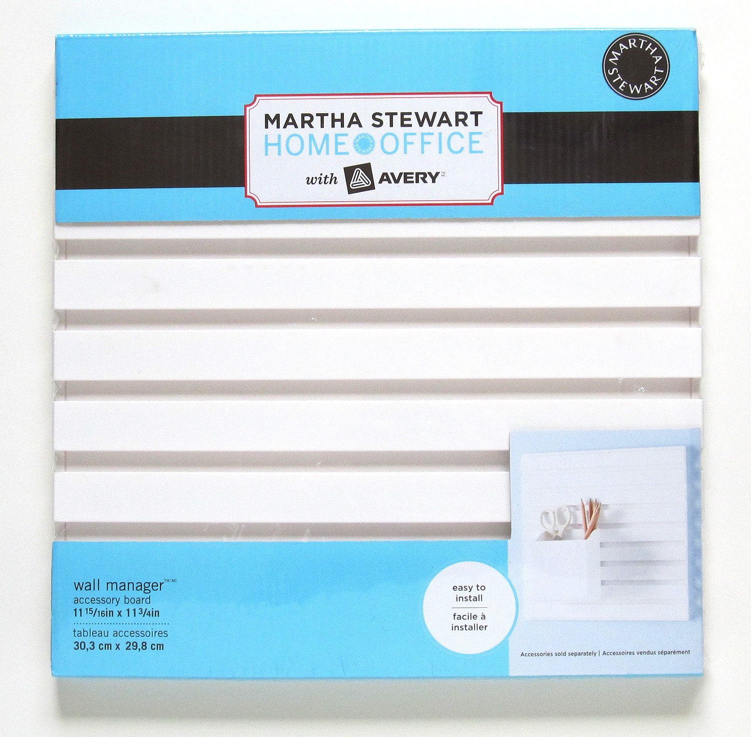 Amazon.com : Martha Stewart Home Office with Avery Wall Manager ...