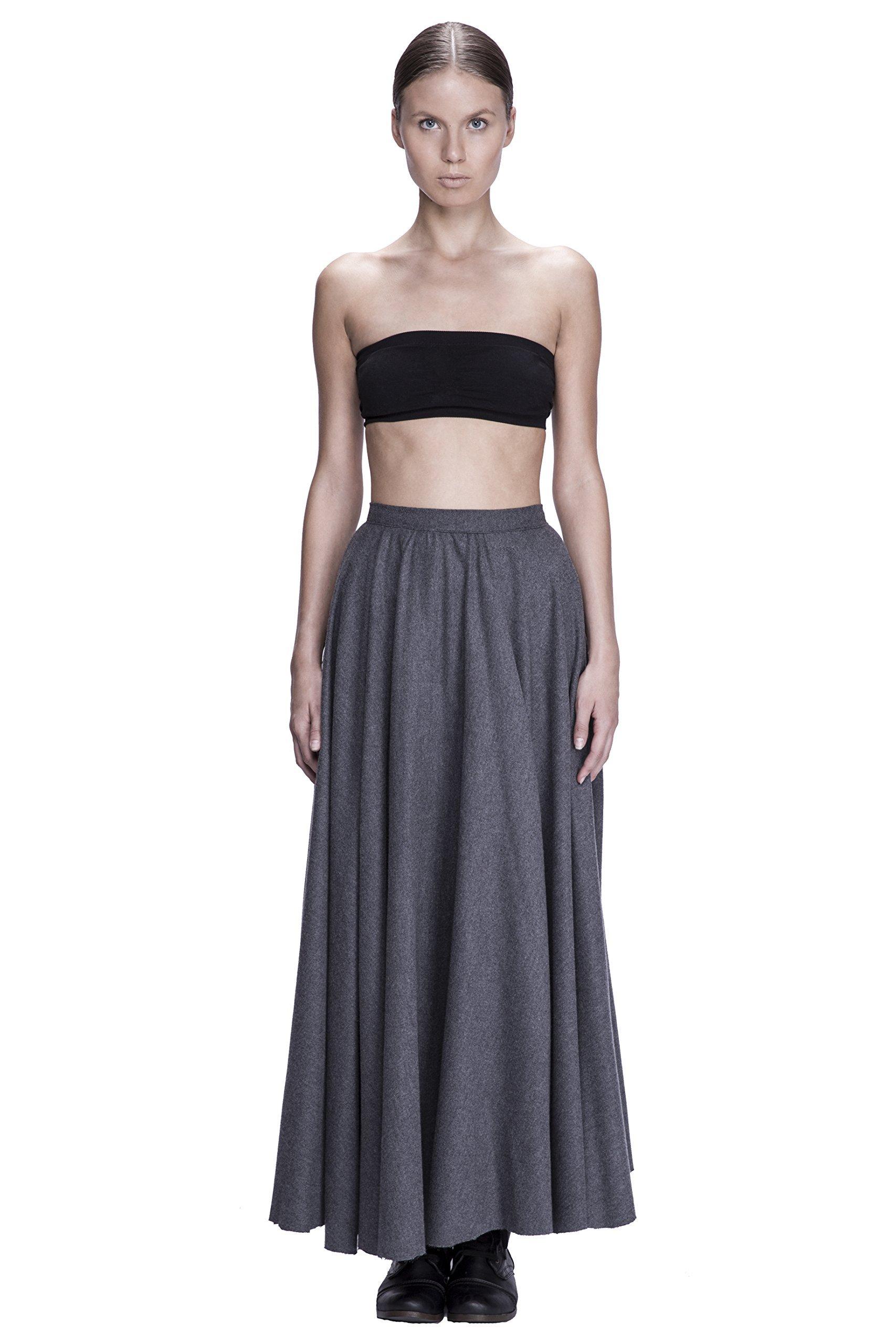 Wool Flannel Full Skirt by Corvus + Crux