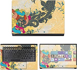 """Decalrus - Protective Decal Skin Sticker for MSI WS65 9TM-857 Mobile Workstation (15.6"""" Screen) case Cover wrap MSws65_9tm-154"""