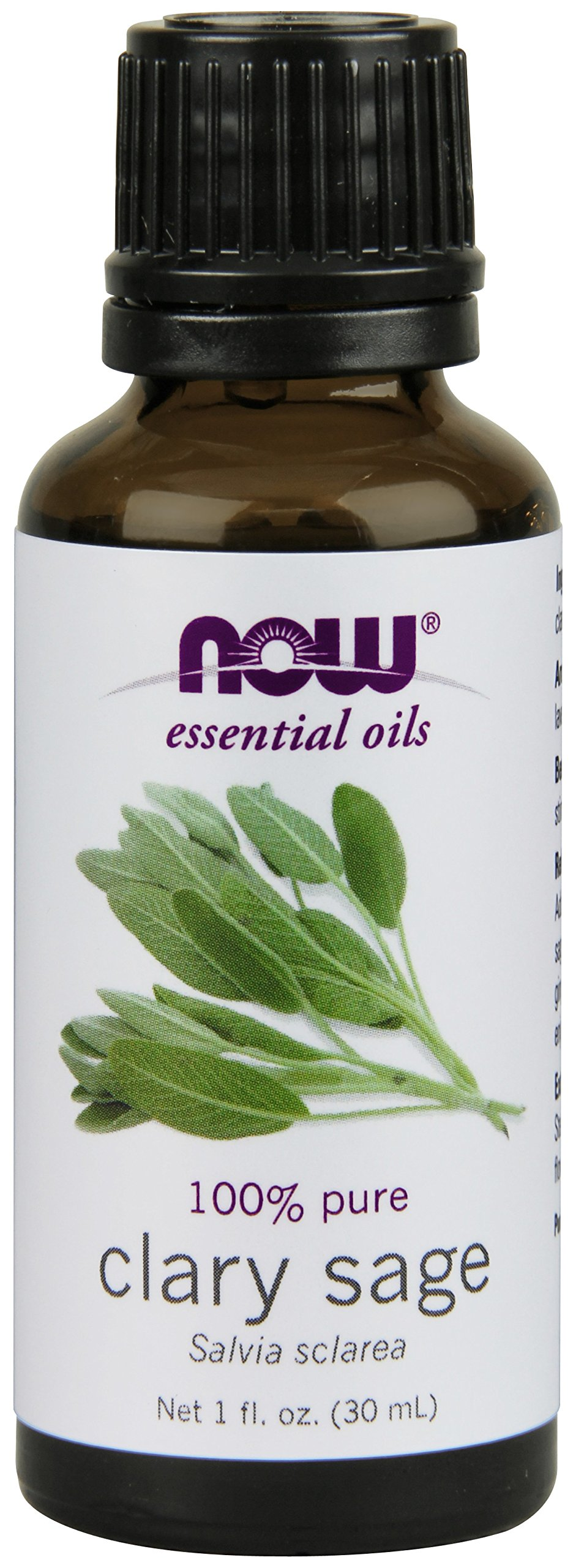 NOW Clary Sage Oil, 1-Ounce