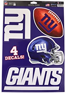 41519d572 Official National Football League Fan Shop Licensed NFL Shop Multi-use  Decals (New York