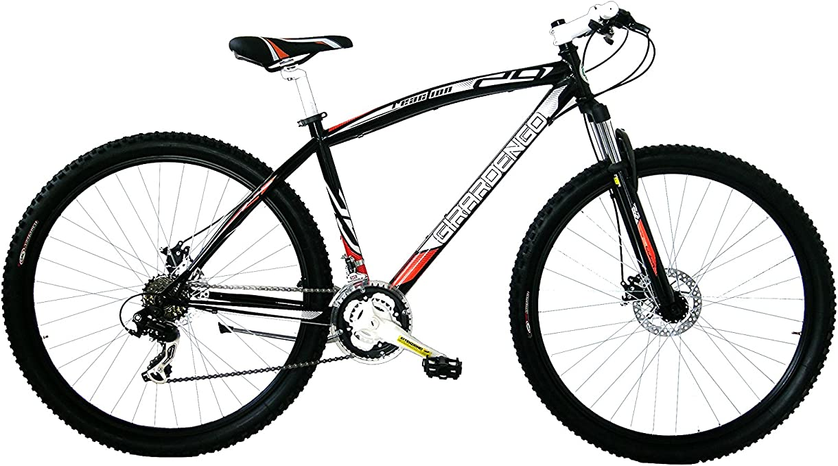 Girardengo Bicicleta Btt Acero MTB Suspensión del. Negro/Gris ...