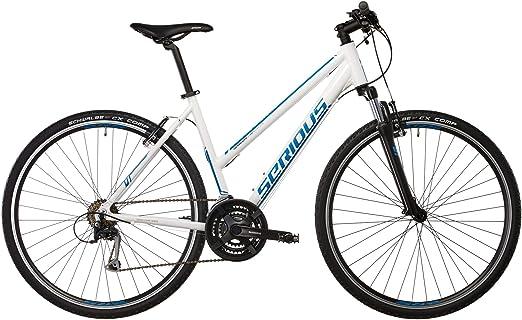 SERIOUS Cedar - Bicicletas híbridas Mujer - Blanco Tamaño del ...