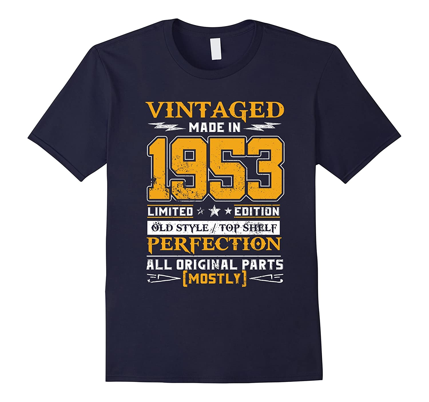 Legends Vintage Made In 1953 64th Birthday Gift 64 years old-T-Shirt