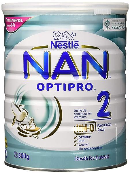 NAN OPTIPRO 2 - Leche de continuación en polvo - Fórmula para bebé - A partir