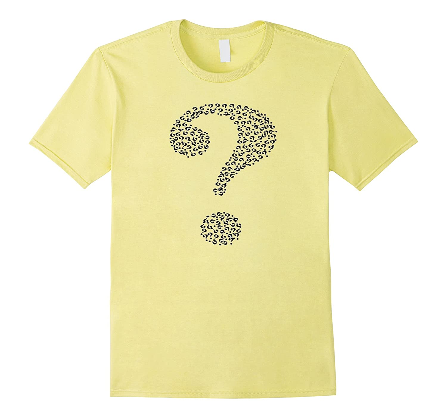 ? WHAT TEE SHIRT QUESTION MARK T SHIRT-TH