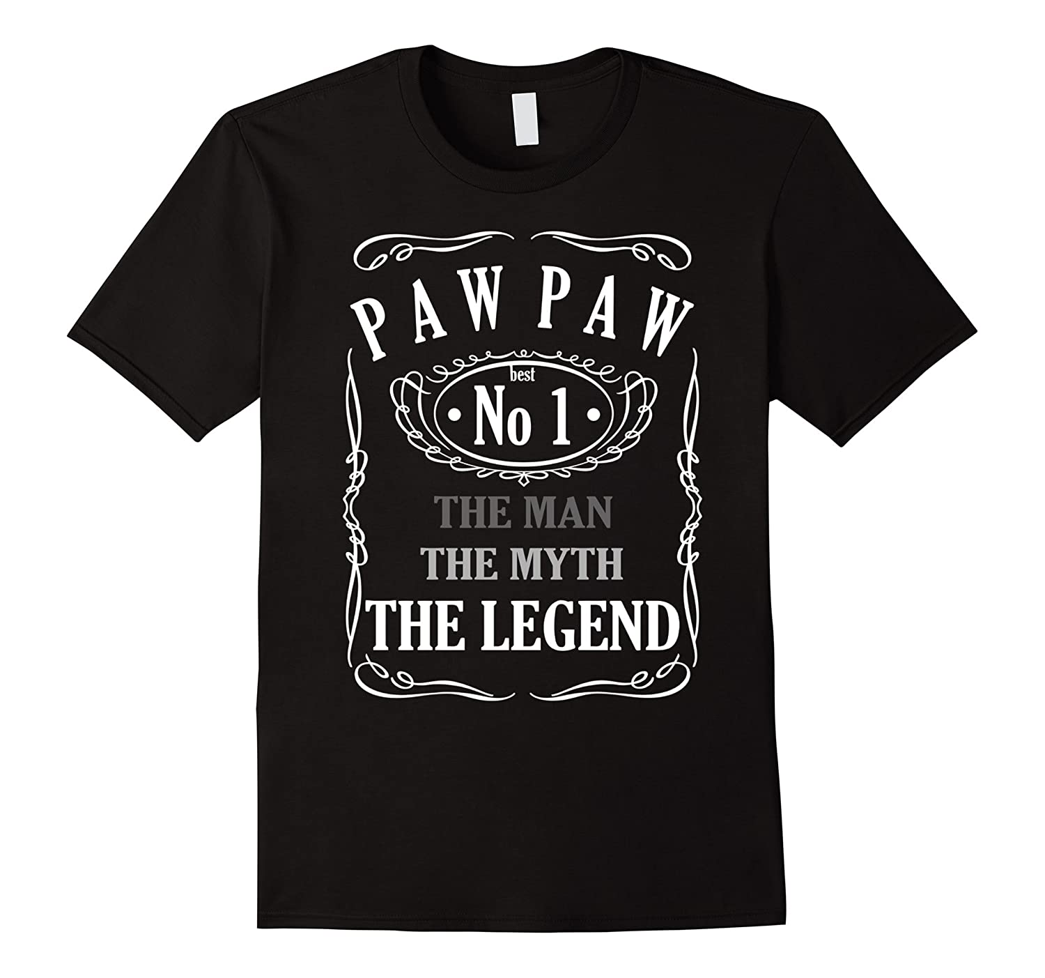 PAW PAW The Man The Myth The Legend T-Shirt-TD