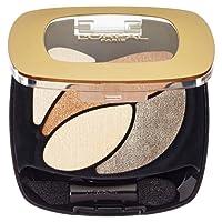 L'Oréal Paris Color Riche Quads Eyeshadow, E1 Beige Trench - Lidschatten Palette für ein intensives, sinnliches Farbergebnis - 1er Pack (1 x 2,5g)