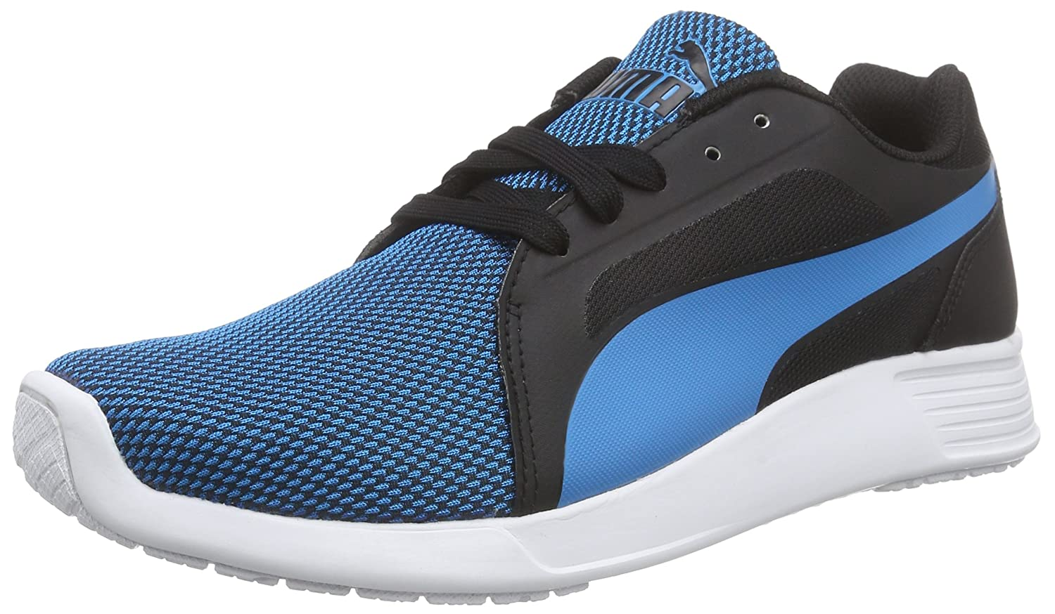 Puma St Trainer Evo Tech Unisex-Erwachsene Low-Top  41 EU|Blau (Atomic Blue-black 02)