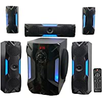 Rockville HTS56 1000W 5.1-Channel Home Theater System with Bluetooth