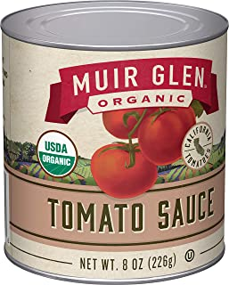 product image for Muir Glen Organic Tomato Sauce, 8 oz (Pack of 24)