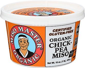 MISO MASTER Soy-free Organic Chickpea 16 oz White Miso Paste